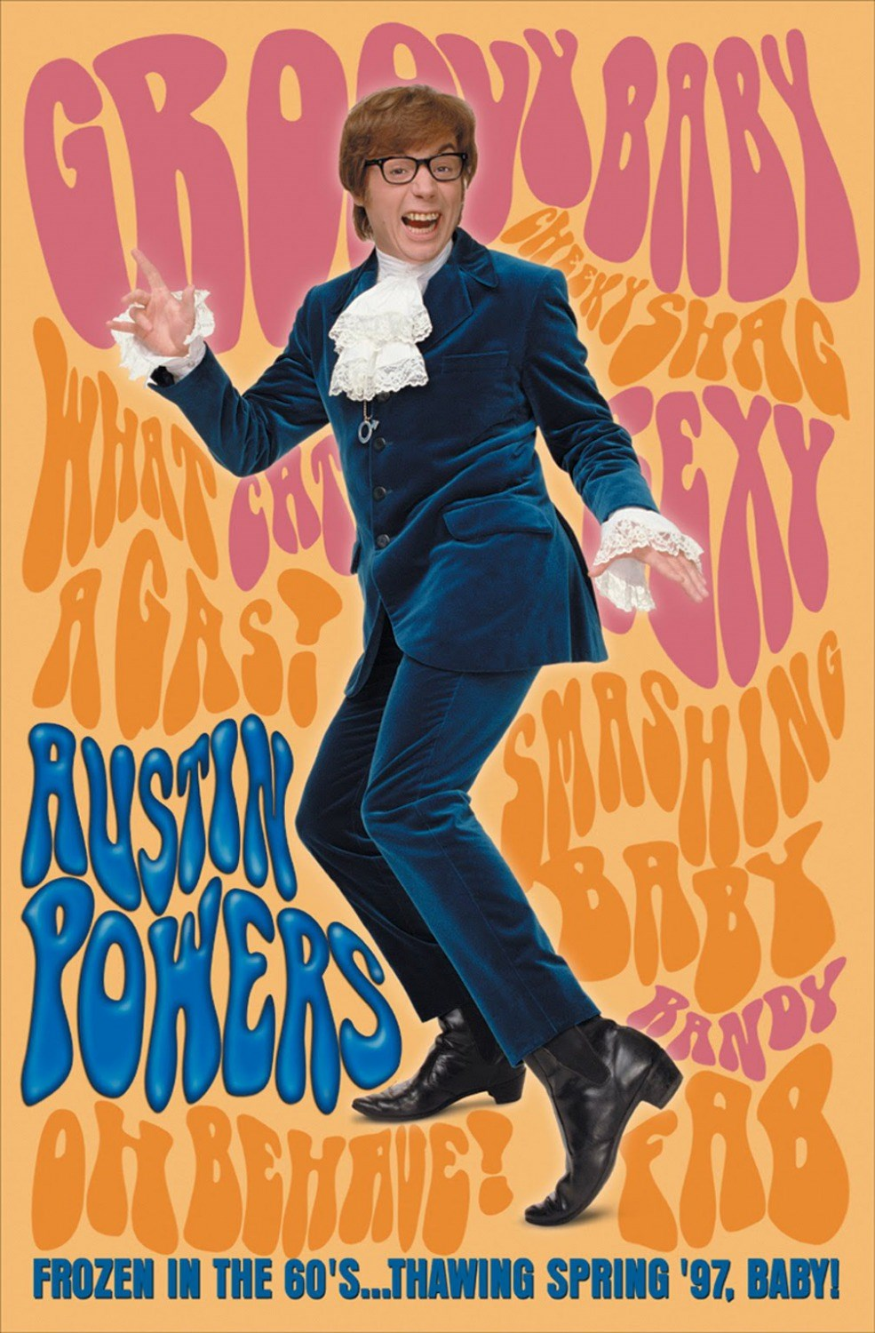 Austin powers international man of mystery music box theatre austin powers international man of mystery bookmarktalkfo Image collections